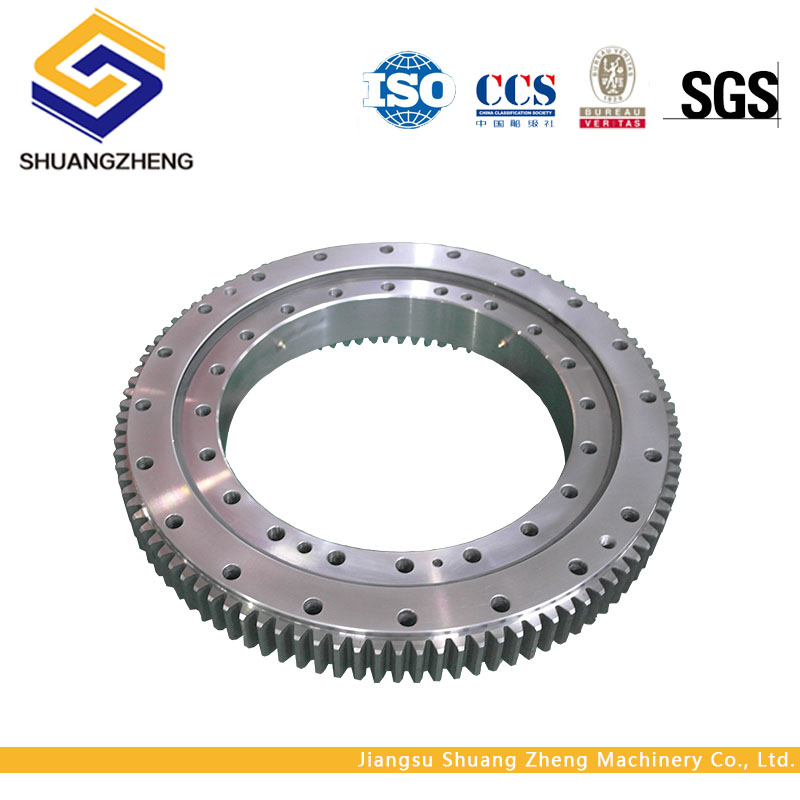high quality big diameter internal gear turntable slewing