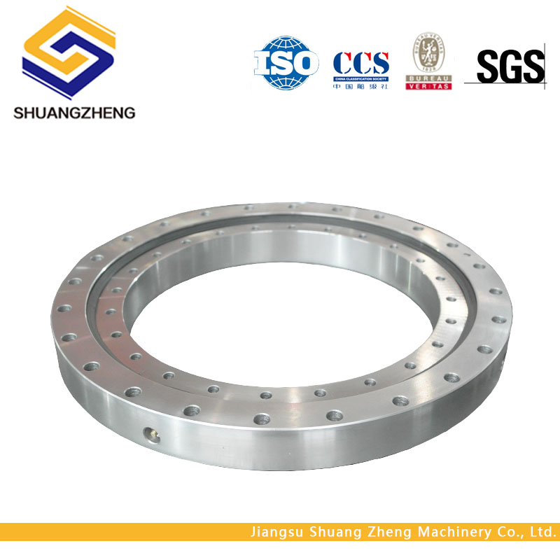 Non-gear single row ball Slewing ring bearing for welding manipulator