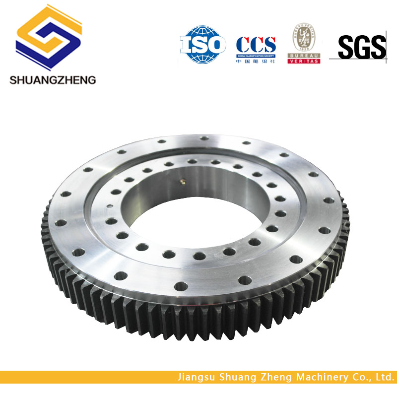 Professional & tailor making 3 row roller slewing bearing with external gear