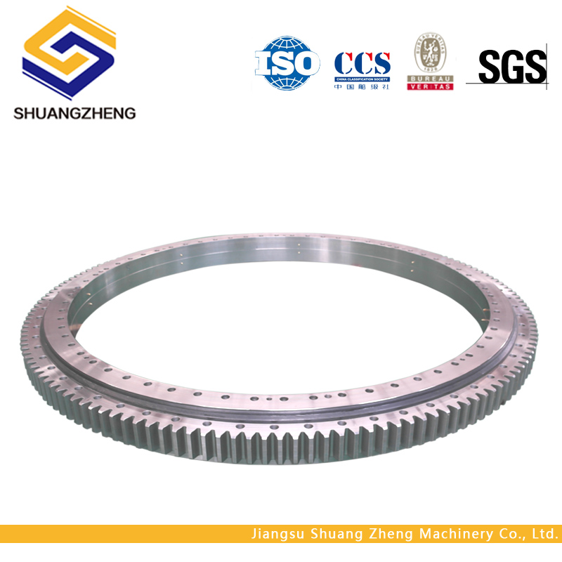 High Loads double row ball slewing ring bearing for lift cranes