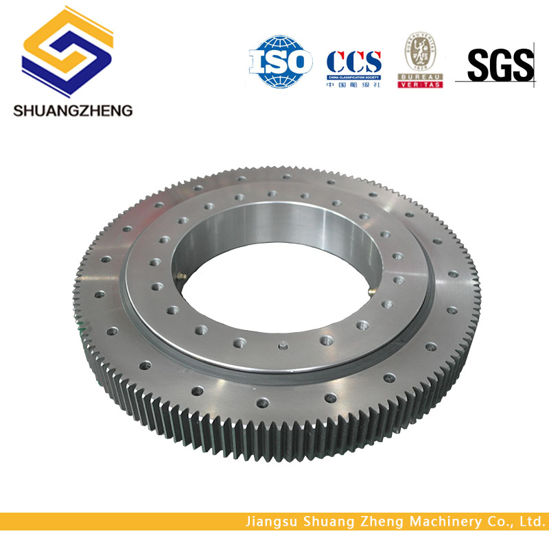 High precisioin three row roller slewing bearing for heavy duty moving machine system